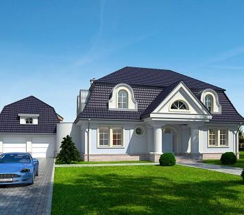 Projekt domu LK&904
