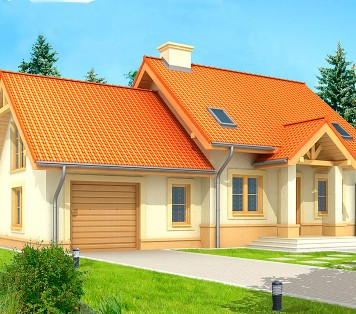 Projekt domu LK&55