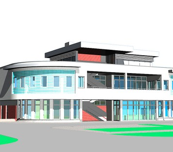 Projekt domu B25