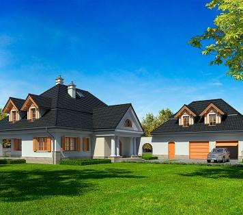 Projekt domu LK&939