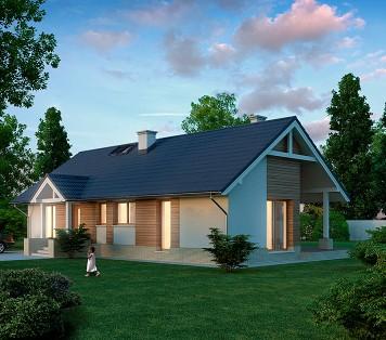 Projekt domu LK&908