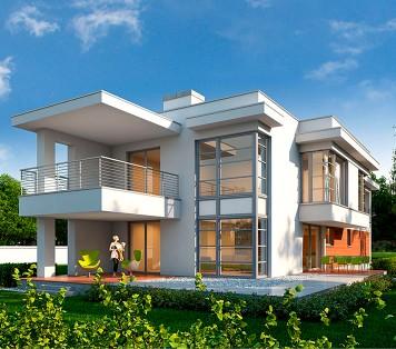 Projekt domu LK&1040