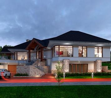 Projekt domu LK&942