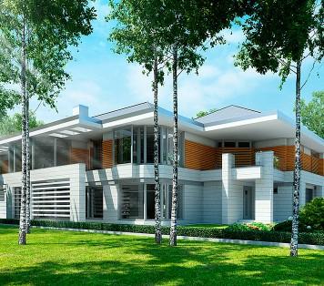 Projekt domu LK&1049