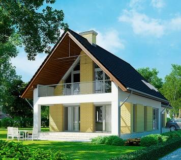 Projekt domu LK&1068
