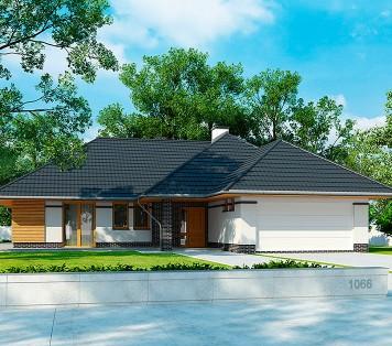 Projekt domu LK&1066