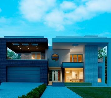 Projekt domu LK&976