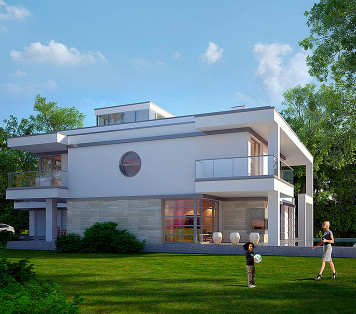Projekt domu LK&1075