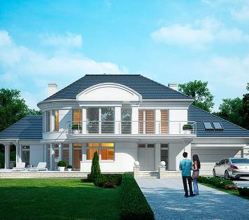 Projekt domu LK&1111