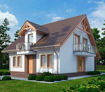 Projekt domu LK&725