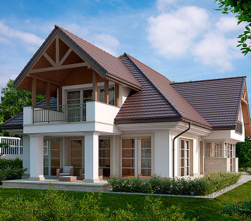 Projekt domu LK&1152