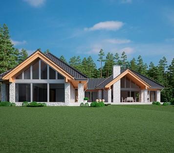 Projekt domu LK&1135