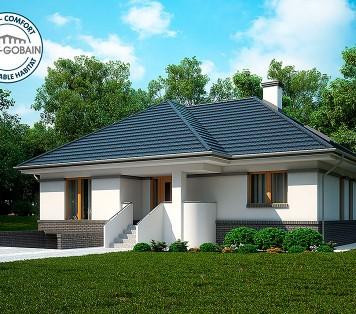 Projekt domu LK&1129