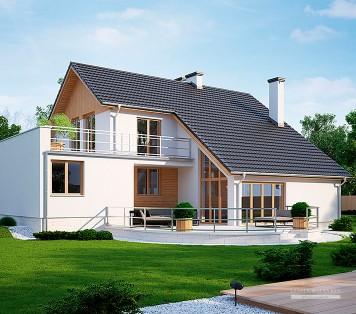 Projekt domu LK&122