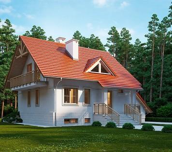 Projekt domu LK&470