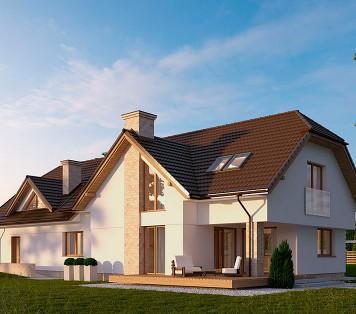 Projekt domu LK&754