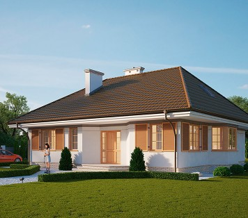 Projekt domu LK&106