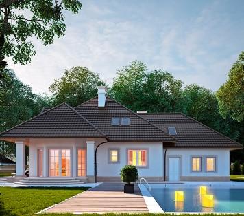 Projekt domu LK&614