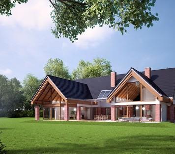 Projekt domu LK&1198