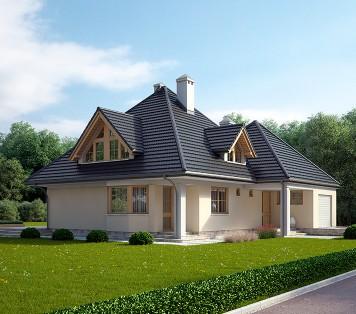 Projekt domu LK&124