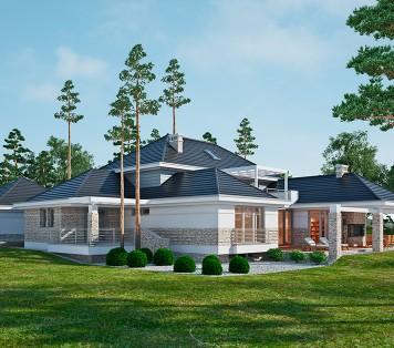 Projekt domu LK&1224