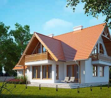 Projekt domu LK&178