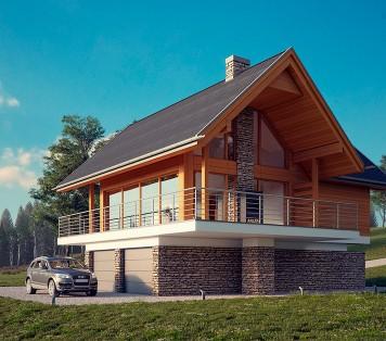 Projekt domu LK&1236