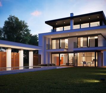 Projekt domu LK&1280
