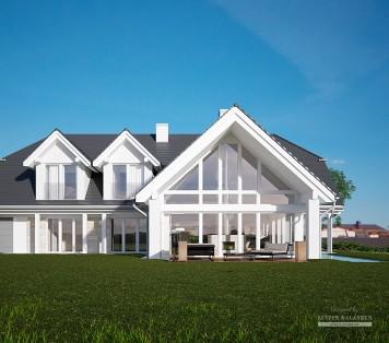 Projekt domu LK&1261