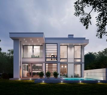 Projekt domu LK&1288 dla Niemiec