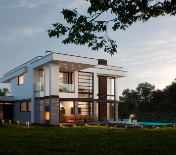 Projekt domu LK&1323