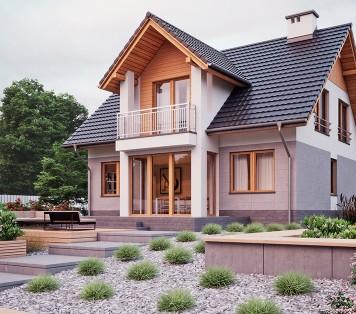 Projekt domu LK&583