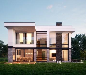 Projekt domu LK&1308