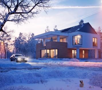 Projekt domu LK&897