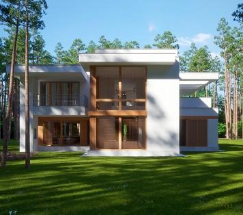 Projekt domu LK&1345