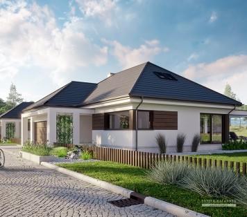 Projekt domu LK&1332