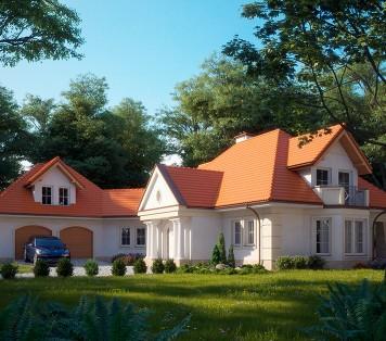 Projekt domu LK&782