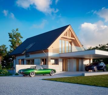 Projekt domu LK&1364