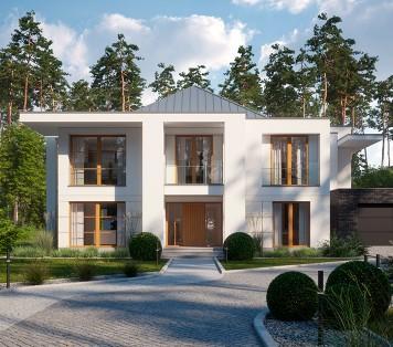 Projekt domu LK&1376