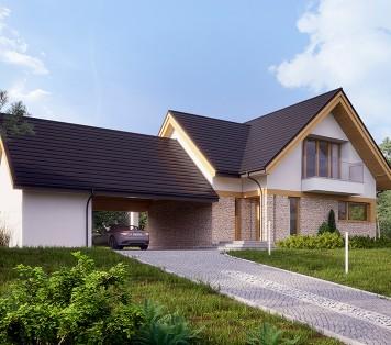 Projekt domu LK&1351