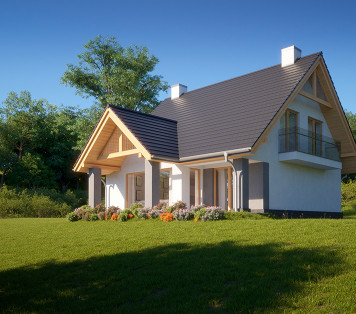 Projekt domu LK&1390