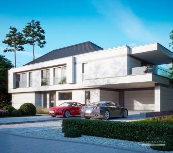 Projekt domu LK&1387 do Niemiec