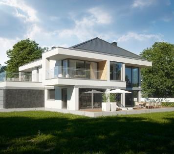 Projekt domu LK&1306