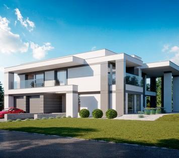 Projekt domu LK&1415