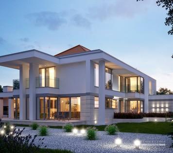 Projekt domu LK&1361