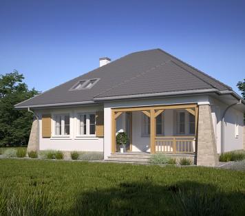 Projekt domu LK&640