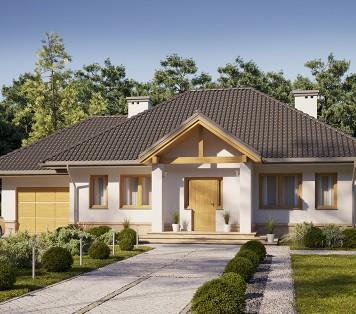 Projekt domu LK&482