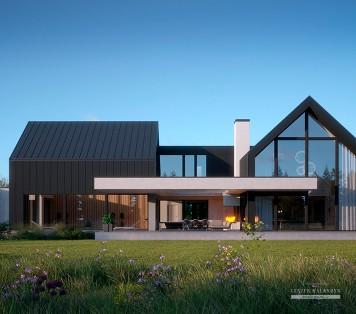 Projekt domu LK&1456