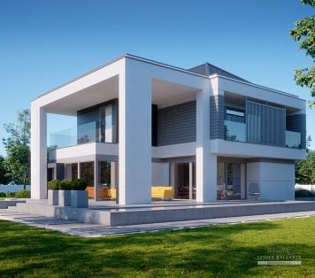 Projekt domu LK&1467