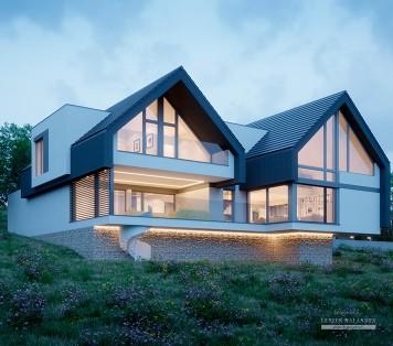 Projekt domu LK&1474
